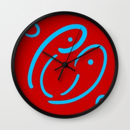 Face to laugh Wall Clock