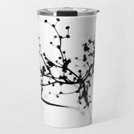 Wild plant in wintertime Travel Mug