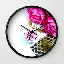 Hues of Design - 1024 Wall Clock