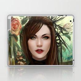 Regal - Royal portriat of an empress Laptop & iPad Skin