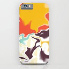 Liquid shapes 5 iPhone Case