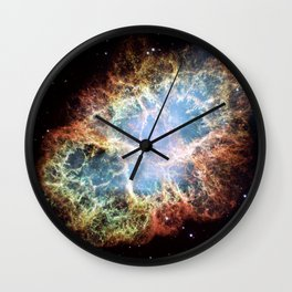 The Crab Nebula Wall Clock