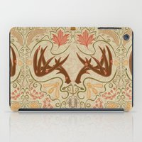 wisconsin iPad Cases featuring Wisconsin Pattern by Kayla Catherine Illustration