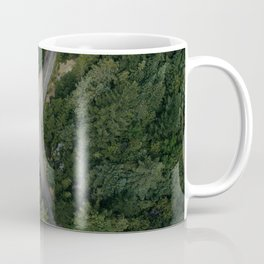 NATURE - PHOTOGRAPHY - FOREST - HIGHWAY - ROAD - TRIP - TREES Coffee Mug