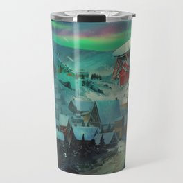 Northern Lights Travel Mug