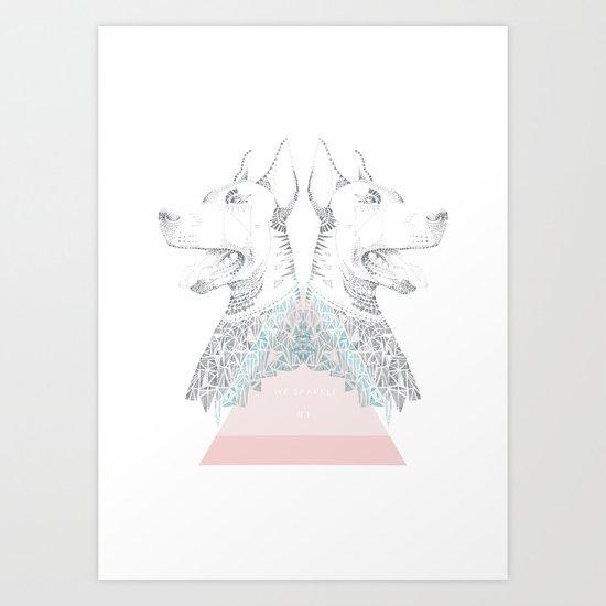 WE SPARKLE #1 Art Print