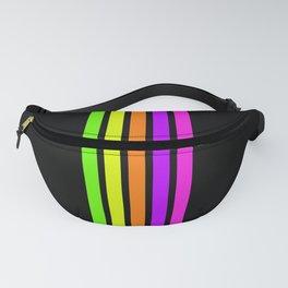 Rainbow Stripes VI Fanny Pack
