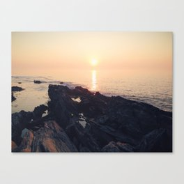 Trundy Pt. at Sunrise, ME Canvas Print