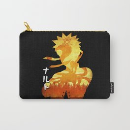 Minimalist Silhouette Hero Carry-All Pouch