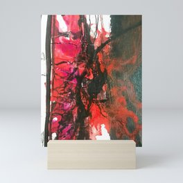 Abstract color explosion Mini Art Print