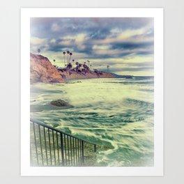 Laguna beauty Art Print