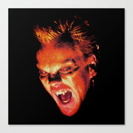 The Lost Boys David Stained Glass Canvas Print