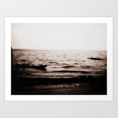 Leave With Me, Across the Sea Art Print