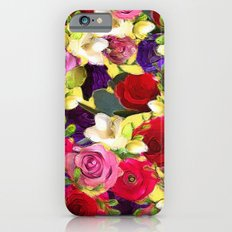 Rose Bouquet Slim Case iPhone 6s