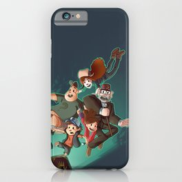 Gravity Falls - Embrace the Fall iPhone Case