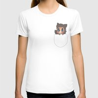 derek hale T-shirts featuring Pocket Derek! by prettiestalpha