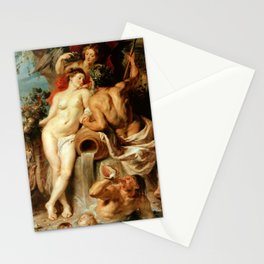 Peter Paul Rubens: The Union of Earth and Water (Antwerp and the Scheldt) Stationery Cards