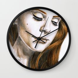 Lana DelRey Wall Clock