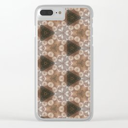 Flowers around Clear iPhone Case