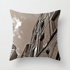 downtown vancouver Throw Pillow