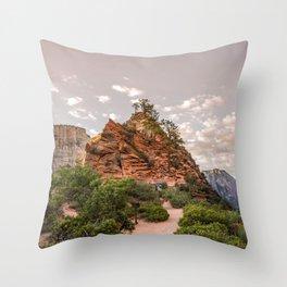 Angel's Rest Throw Pillow