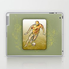 Soccer player Laptop & iPad Skin