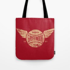 Vintage Gryffindor Quidditch Team Tote Bag