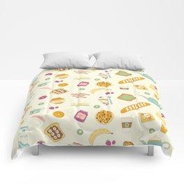 Who else loves breakfast? Comforters
