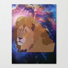 The Lion Is High Canvas Print