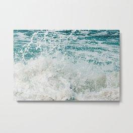 Force of the sea Metal Print