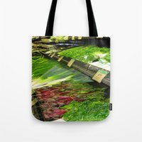 vegetables Tote Bags featuring Fresh Vegetables by Chris' Landscape Images & Designs