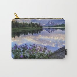 Wildflowers Along the Snake River Carry-All Pouch