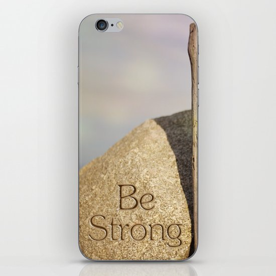 Be Strong iPhone & iPod Skin