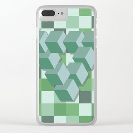 Penrose Cubed Clear iPhone Case