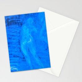 In liquid Indigo Stationery Cards