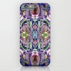Ridged Patterns 2 C iPhone 6s Slim Case