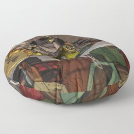 King Jamison Fawkes the First Floor Pillow