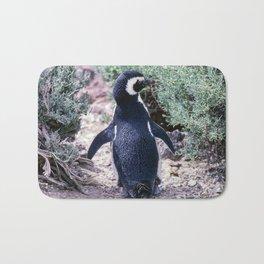 Magellanic Penguin in Peninsula Valdes - Argentina Bath Mat