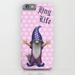 Sweetheart Hug Gnome iPhone Case