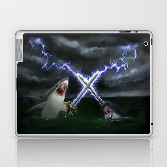 Shark vs. Narwhal  Laptop & iPad Skin