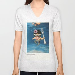 Fear the Trident Unisex V-Neck