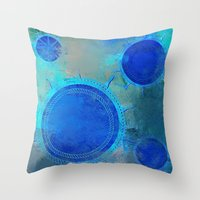 nautical Throw Pillows featuring Nautical by JuniqueStudio
