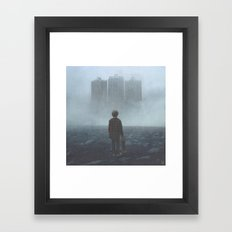 Boy and the Giants Framed Art Print