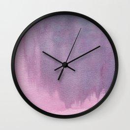 Purple Pink Floral Motivational Wall Art Print, Purple Pink Floral Pillow, Purple Pink iPhone Case Wall Clock