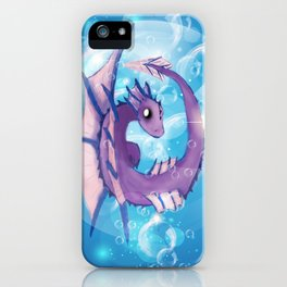 Purple Dragon Hatchling iPhone Case