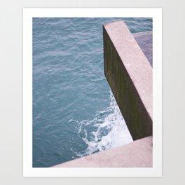 Water's Edge, 2017 Art Print