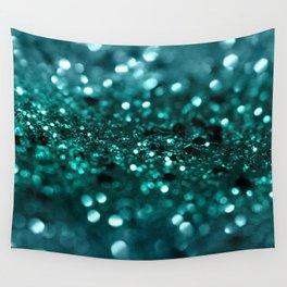Sparkling OCEAN Glitter #1 #shiny #decor #art #society6 Wall Tapestry