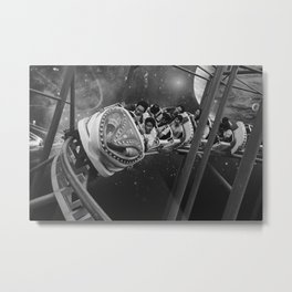 Roller Saigon Metal Print