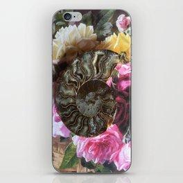 The Ancient Ammonite iPhone Skin