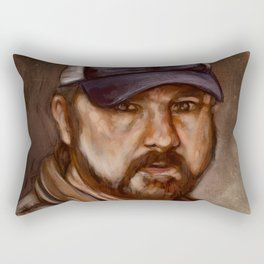 Bobby Singer You Idjits by SachsIllustration Rectangular Pillow